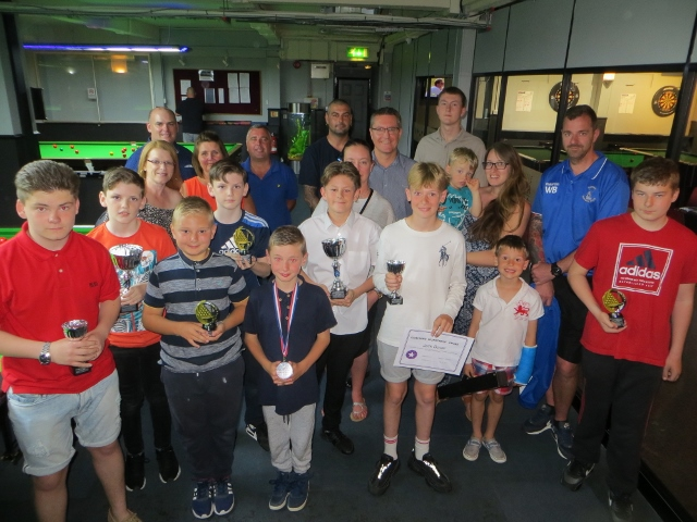 Trophy day at Waterlooville Sports Bar