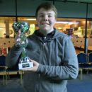 O'Callaghan wins tournament with borrowed cue