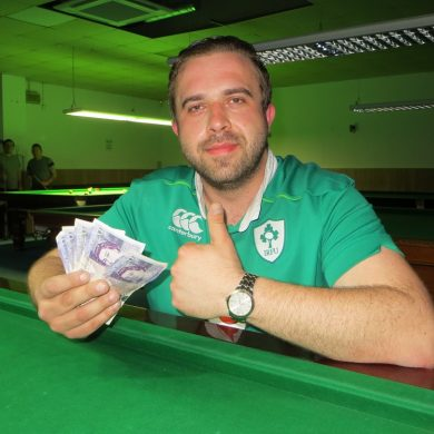 Mike Finn earns £1,000 Q School place