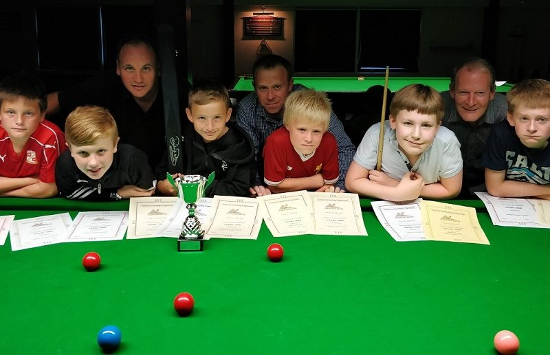 First title for nine-year-old
