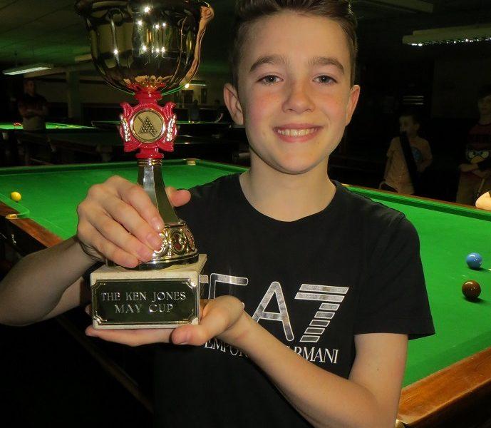 Riccardo retains Ken Jones May Half-Term Cup