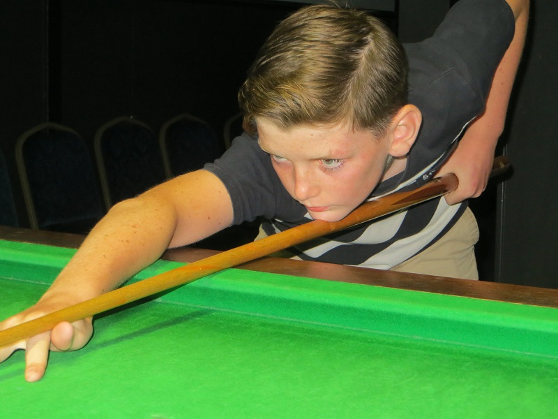 First snooker title for Harry Wilson