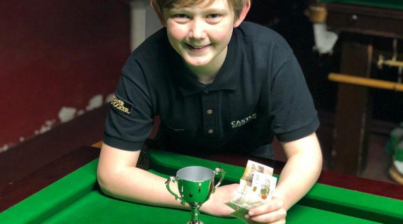 Dylan Smith claims first tournament win