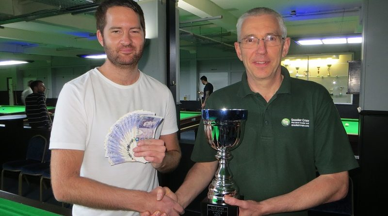 Chislett clinches £500 first prize in Cuestars Championship