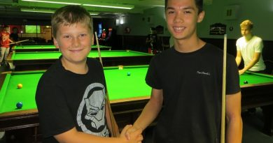 Owen claims first junior league title at Waterlooville Sports Bar
