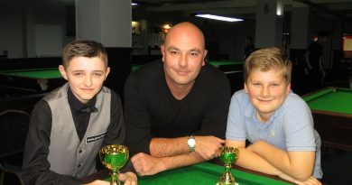 Donovan collects Plate trophy in Waterlooville