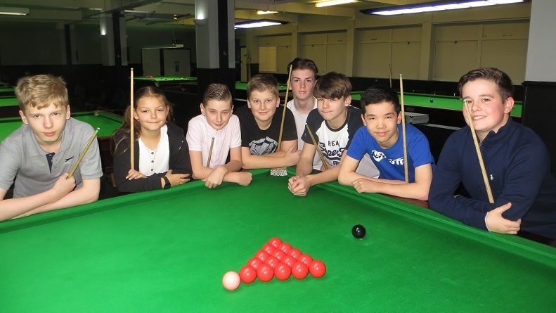 Waterlooville Sports Bar club qualifier for the English Under-14 championship