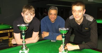 Tony Thompson: my love for grass-roots snooker