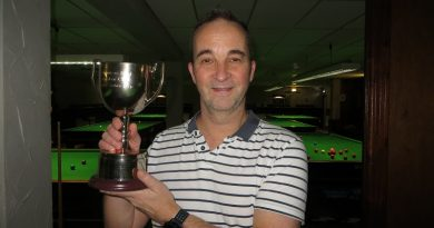 """Phil Morgan pockets £500 after """"biggest buzz of my snooker life""""."""