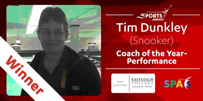 Tim Dunkley – Eastleigh Performance Coach of the Year