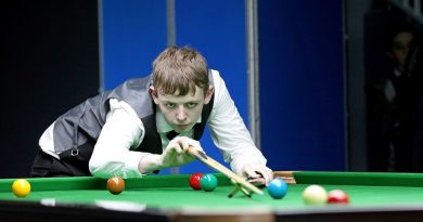 Jamie Wilson: professional snooker player