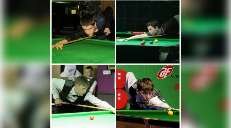Exhibition match to say thanks for the donation to grass-roots snooker