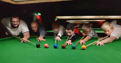 Junior sessions return to Salisbury Snooker Club